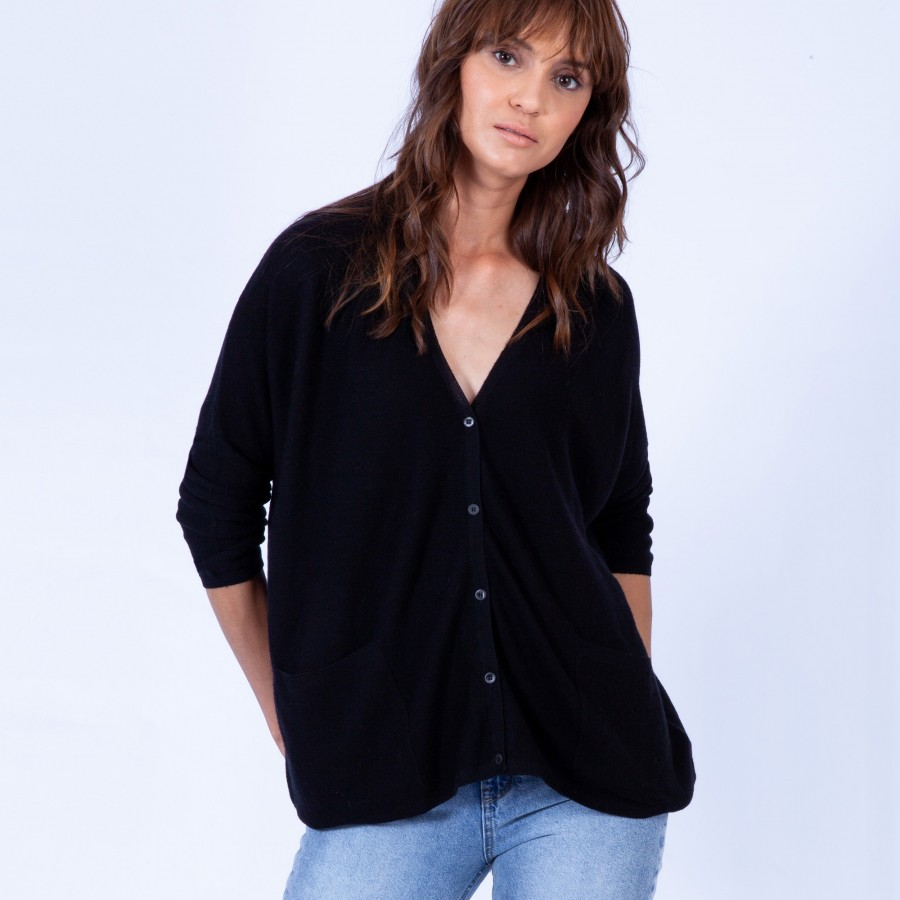 Oversized wool cardigan – Georgia