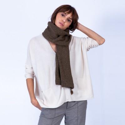 Echarpe en laine et soie - Guila