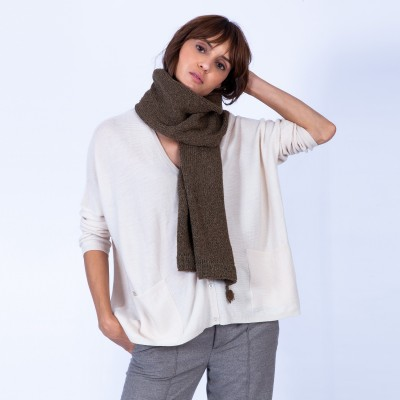 Silk and wool scarf — Guila