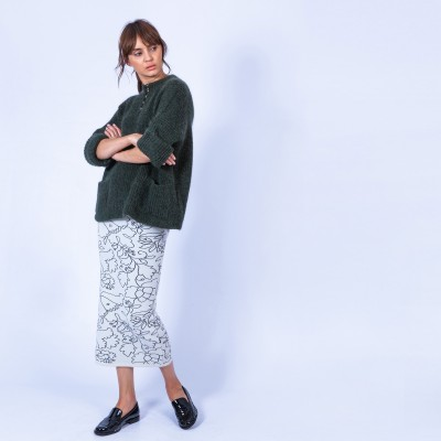 Skirt by Maison Montagut & Maison Martin Morel - Gallena