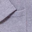 Gilet en laine et alpaga Galaté 6369 Grege - 13 Beige m