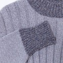 Robe pull laine et alpaga Gracy 6383 Grege pensée - 13 Beige moyen