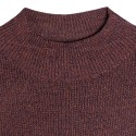 Pull chaussette col montant - Ginette 6371 Santal - 20 Rouge f