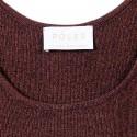 Débardeur en laine mélangée- Georgie 6371 Santal - 20 Rouge foncé