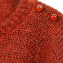Pull en mohair Gafray 6371 Santal - 15 Orange