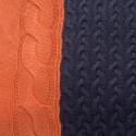Coussin - Ivoire 6326 15 Orange