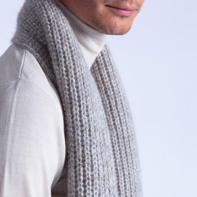 Mohair scarf - Focus