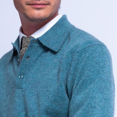 Cravate en alpaga et laine chinée - Fuji