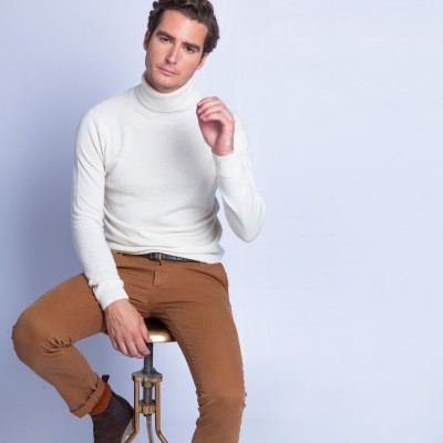 Turtleneck cashmere sweater - Felipe