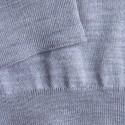 Pull col roulé en laine mérinos Finlay 6350 glace - 11 gris clair
