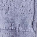 Echarpe en mohair - Egerie 6350 glace - 11 gris clair
