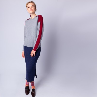 Graphic cashmere jumper - Empreinte
