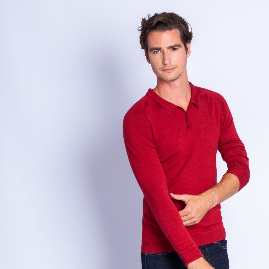 Wool and silk polo - Ferat