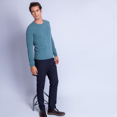 Pull cachemire homme col rond - Faustin