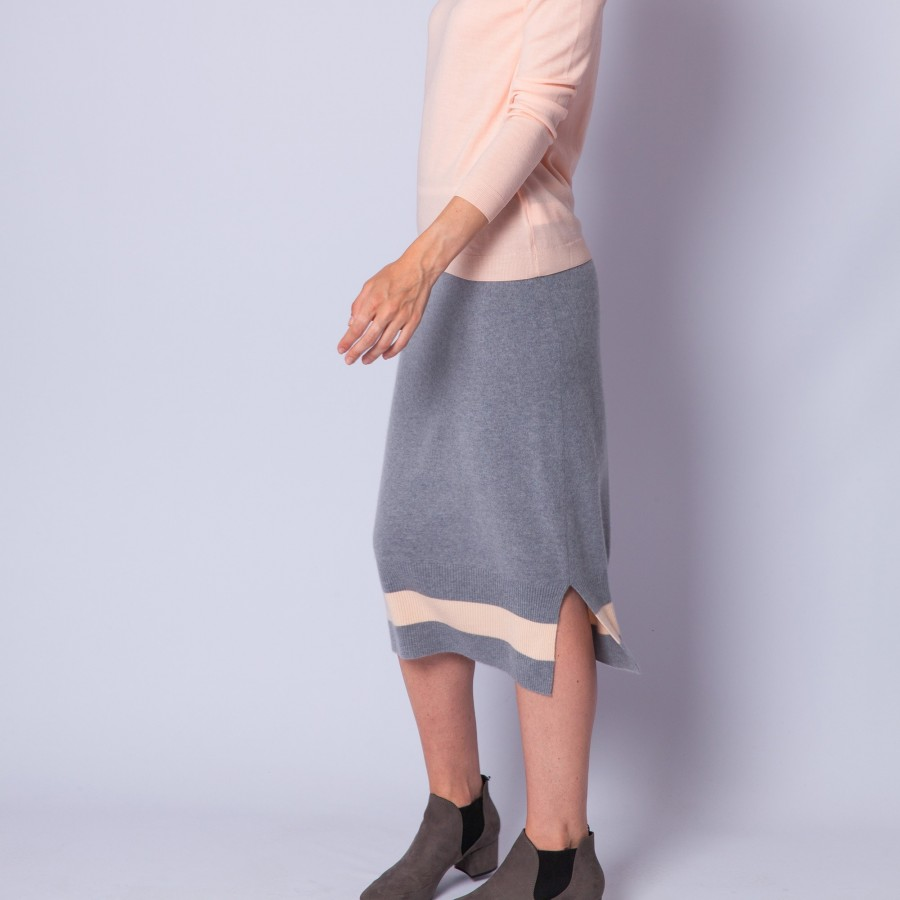 Cashmere pencil skirt - Eva