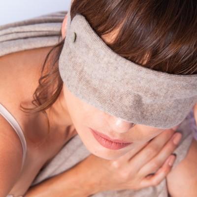 Masque de sommeil en cachemire - Hania
