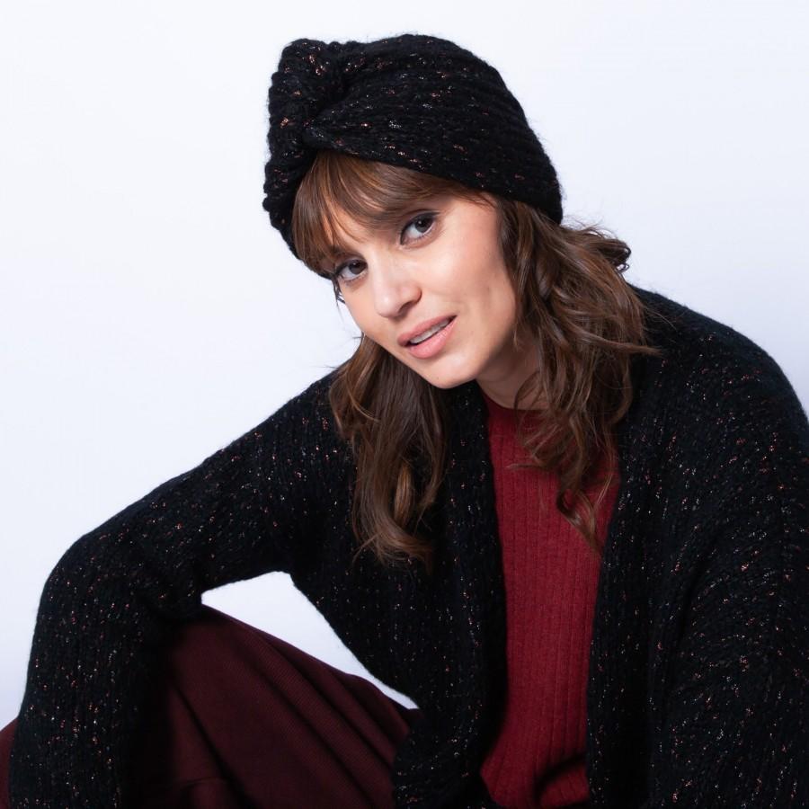 Bonnet turban - Gus 6310 noir - 01 noir