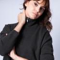 Cashmere zip-up jumper - Genna