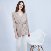 Woman cashmere cardigan