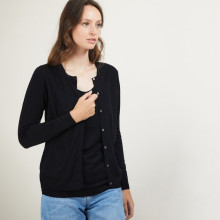 Woman woolen cardigan