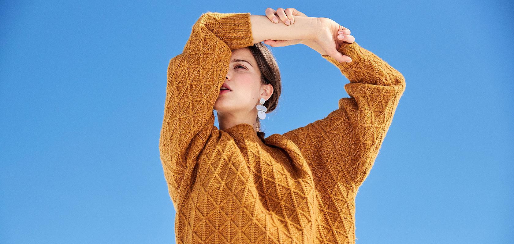 vêtements pulls laine femme Maison Montagut