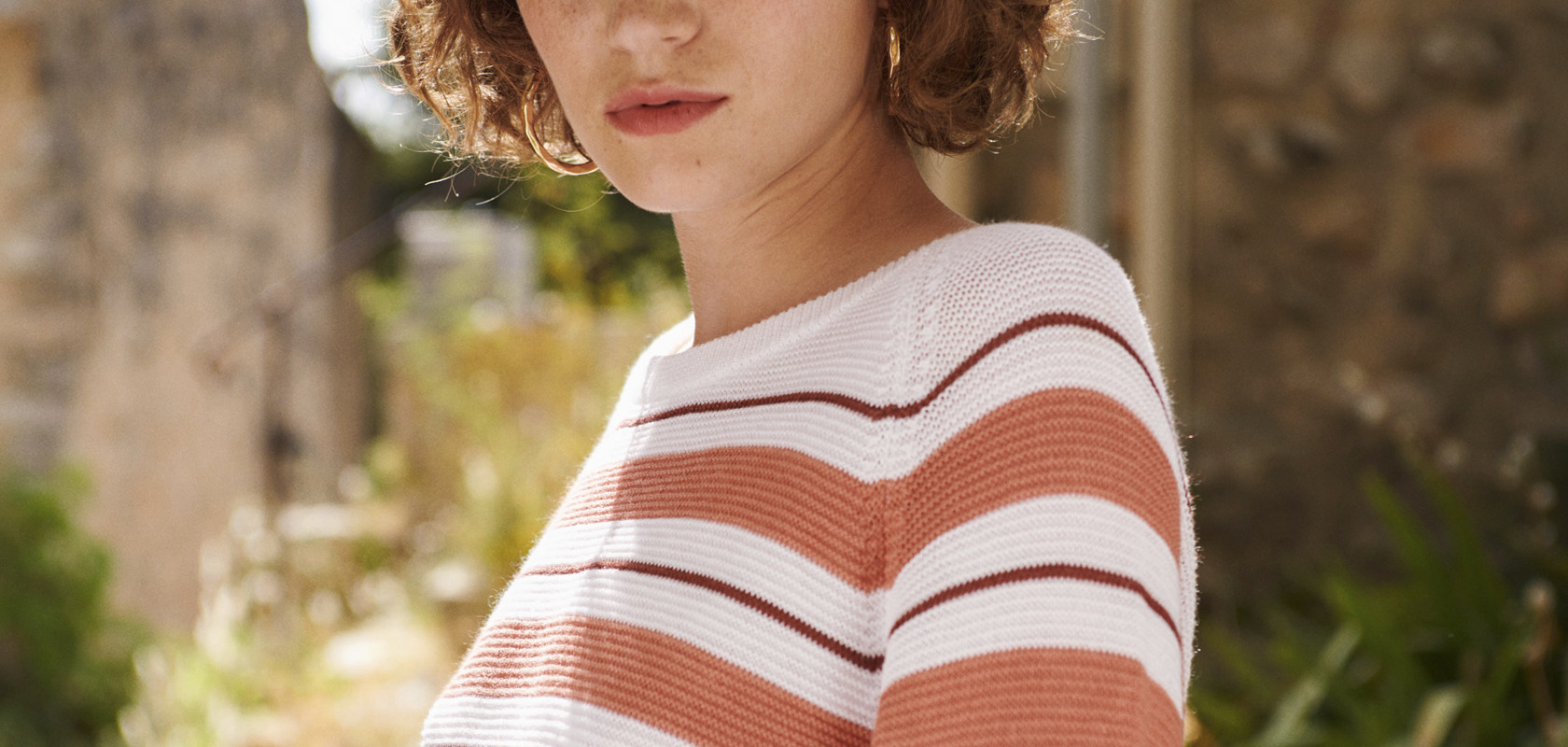 clothing woman wool Maison Montagut