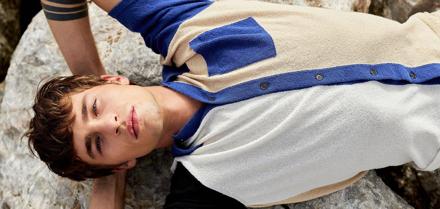 vêtements t-shirts homme Maison Montagut