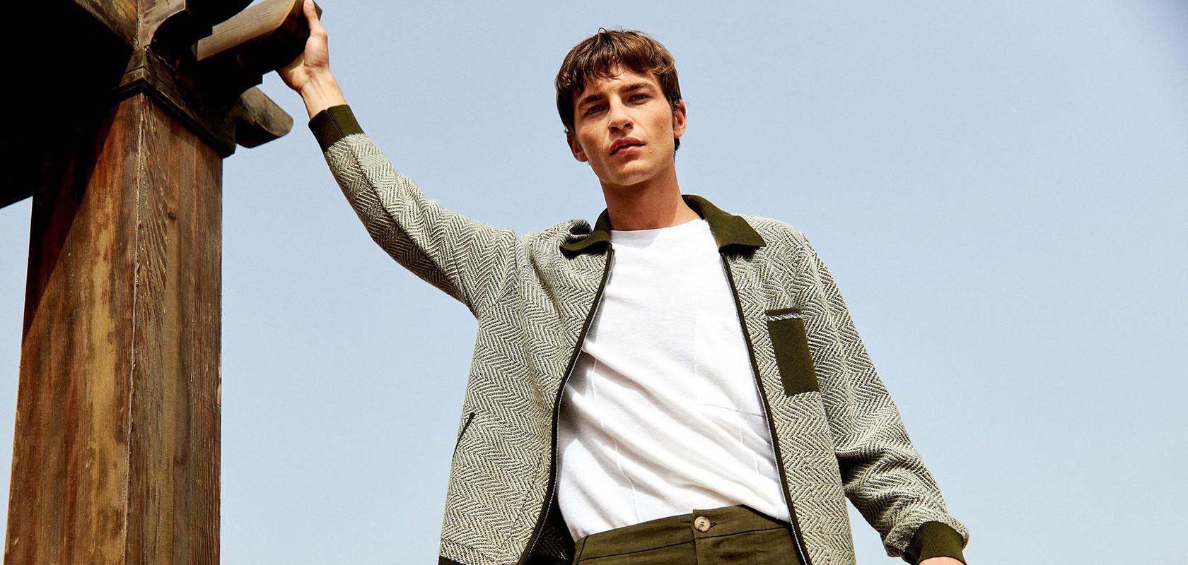 clothing laine mérinos homme Maison Montagut