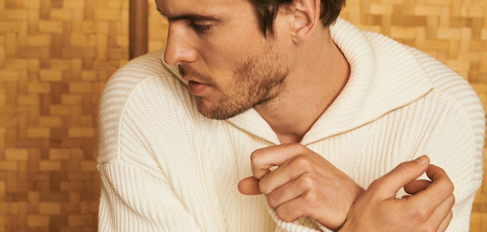 clothing wool sweaters man Maison Montagut