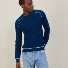 Pulls col rond homme