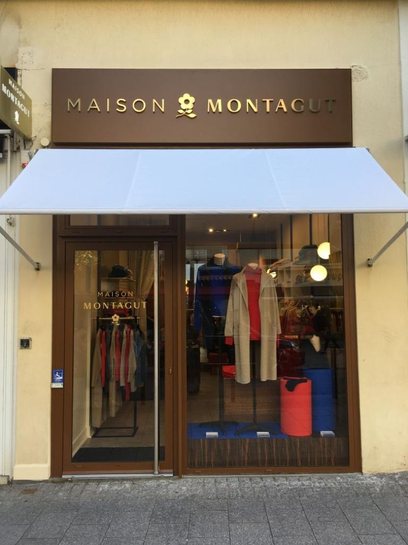 Maison Montagut shop clothing Biarritz