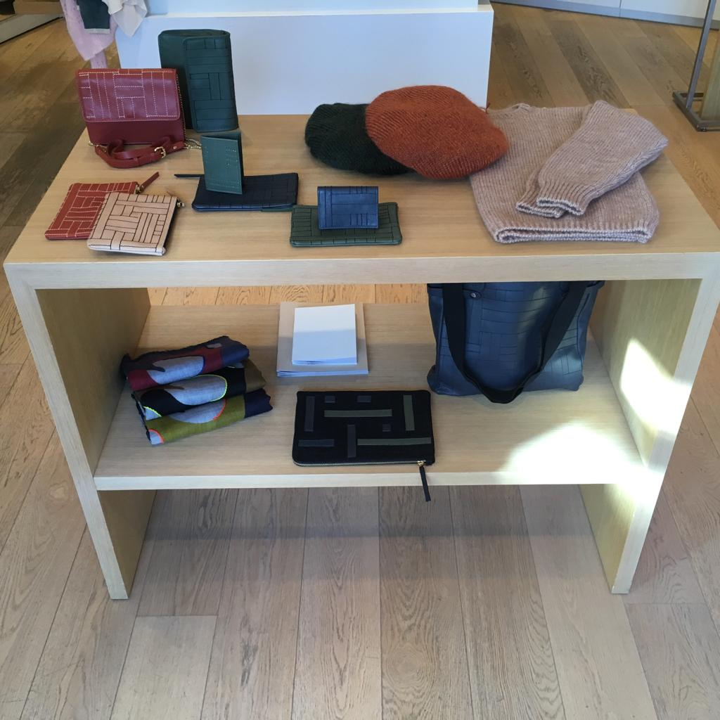leather goods store Dinard Maison Montagut