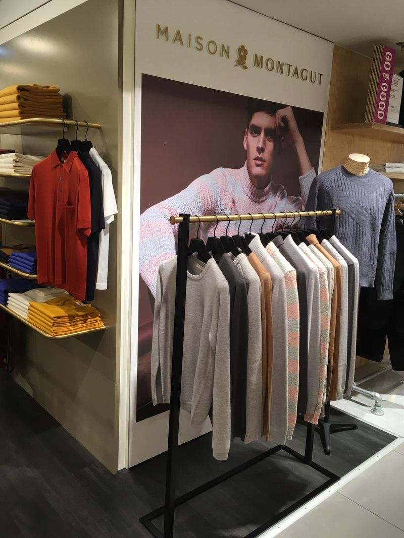 Galeries Lafayette stand magasin Maison Montagut