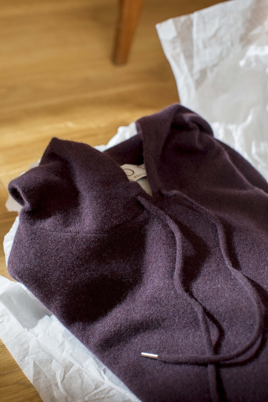 Cashmere hoodie Sweater Harper O collection