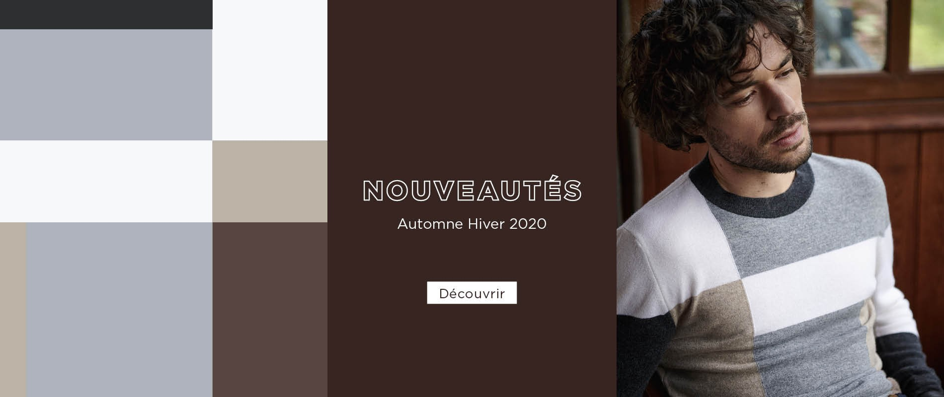 Nouvelle Collection Homme Hiver 2020