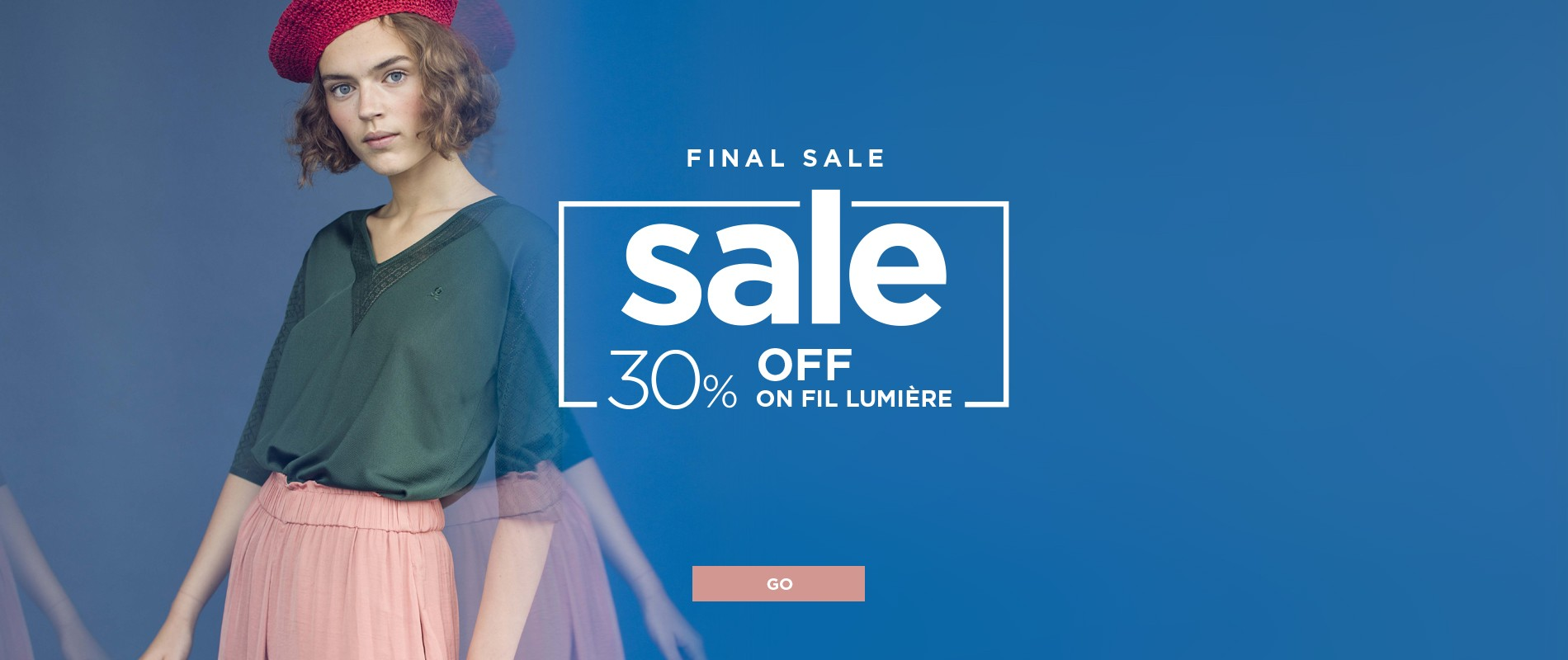 Summer Sales for our FIL LUMIERE !